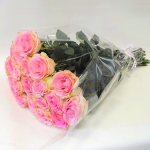 Как упаковать цветы в пленку прозрачную