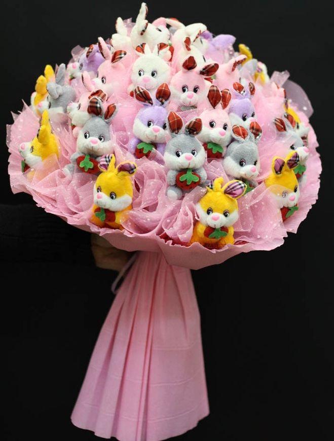Цветы из игрушек своими руками фото